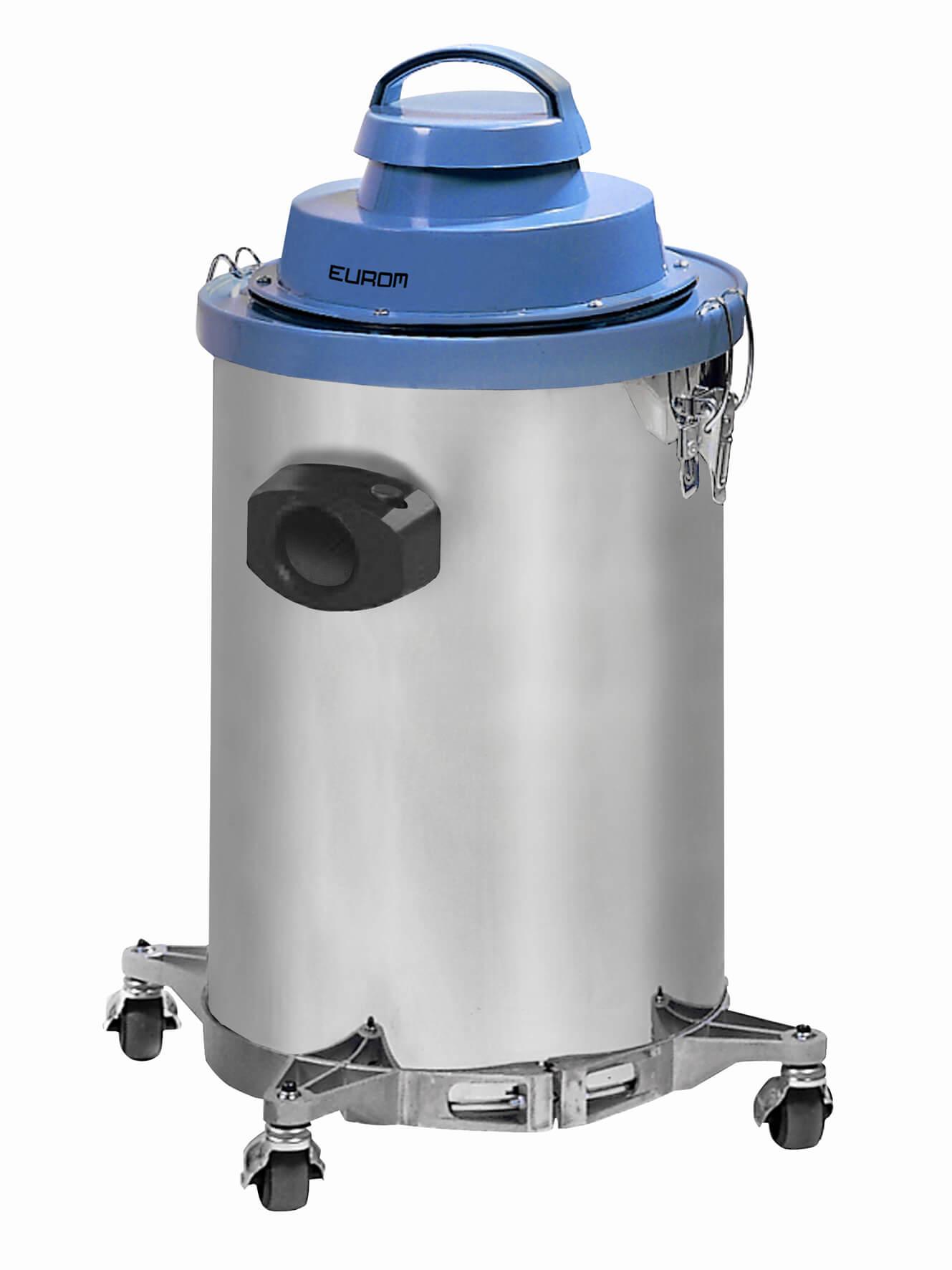 Eurom 1030 RVS Industriële alleszuiger 1000W | Stofzuiger en waterzuiger 30ltr RVS-tank