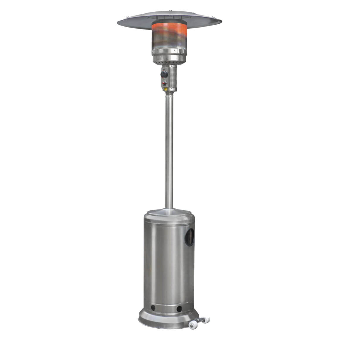Eurom THG14000 RVS Terrasverwarmer op gas | RVS terrasheater