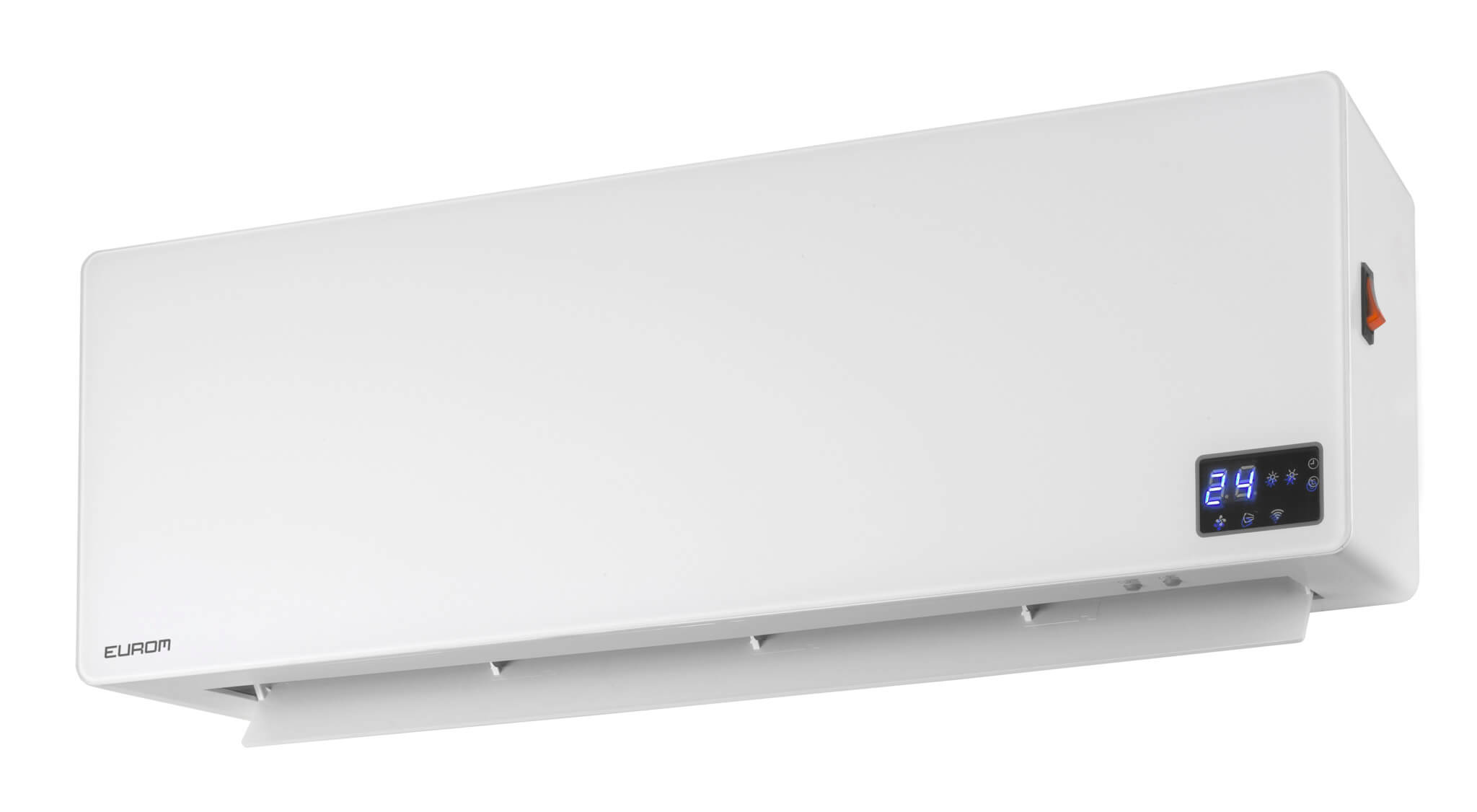 Eurom Wall Designheat 2000 WiFi Elektrische verwarming 2000W | Met afstandsbediening en WiFi (wh2000r)