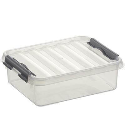Sunware Opbergbox Q-Line Transparant 1 Liter