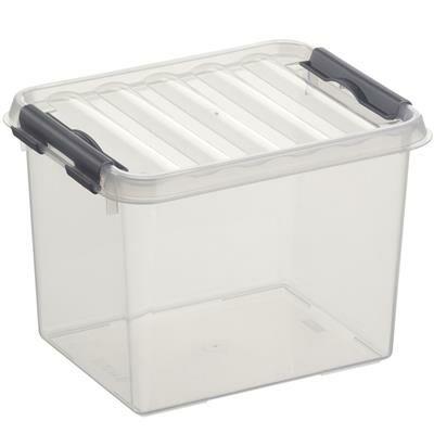 Sunware Opbergbox Q-Line Transparant 3 Liter