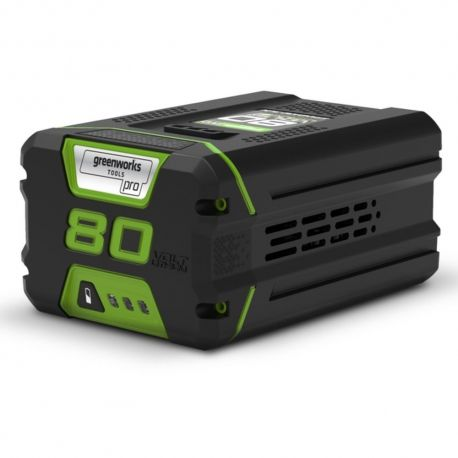 Greenworks G80B2 Accu van Greenworks | 80V Li ion accu (Sanyo/Panasonic) 2Ah