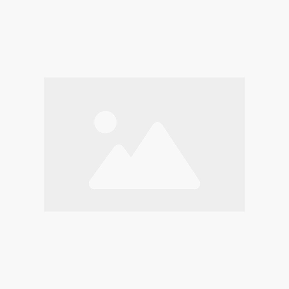 Sunred Mini Table Flame Tower Black Terrasverwarmer op gas | Terrasheater zwart/zilver