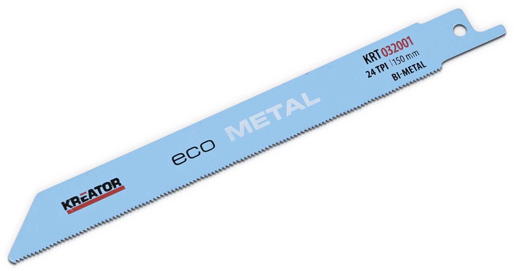 Kreator KRT032001 150mm Reciprozaagbladen   Zaagblad reciprozaag   Voor aluminium
