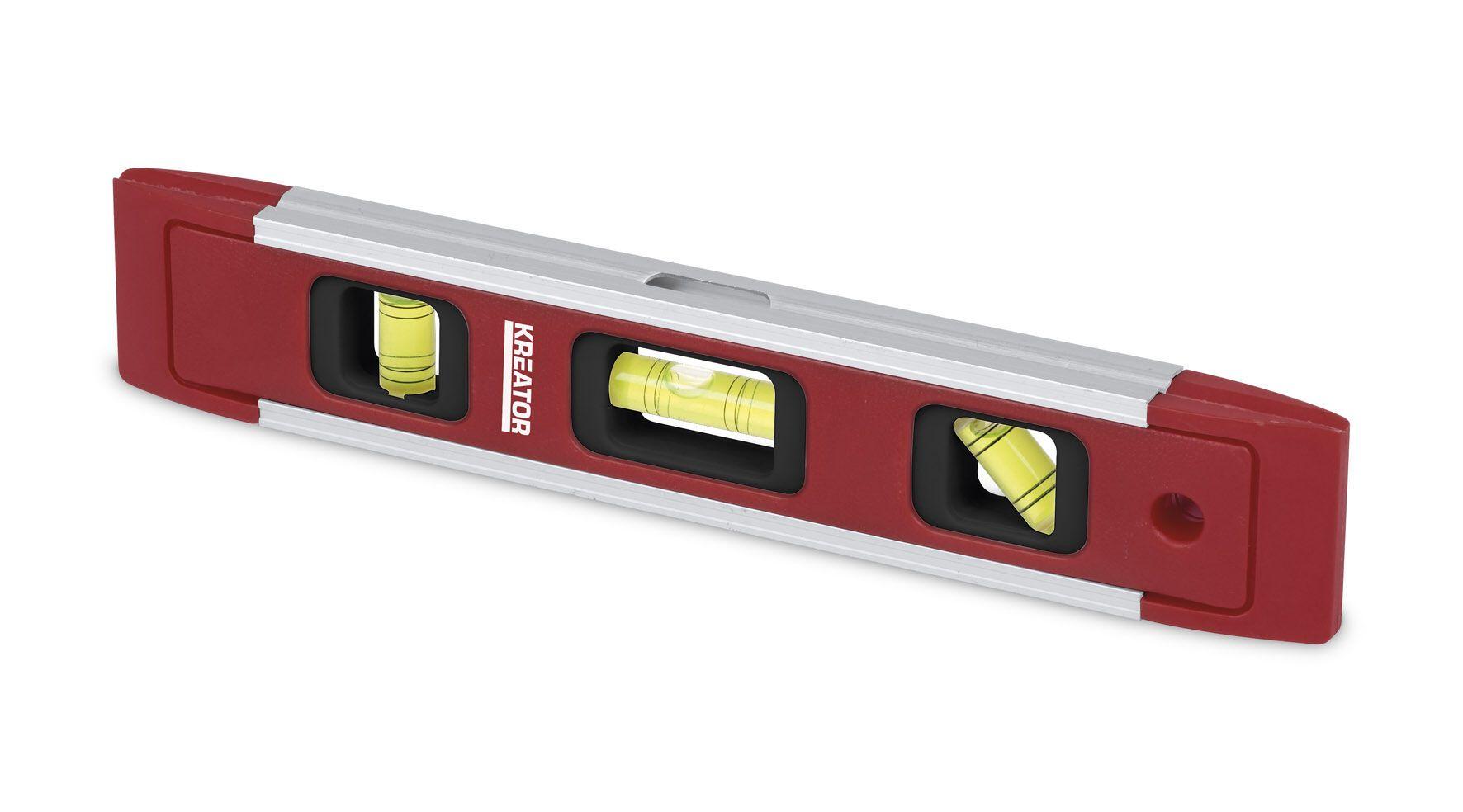 Kreator  KRT706001 Torpedo Magnetische aluminium waterpas | 23 cm