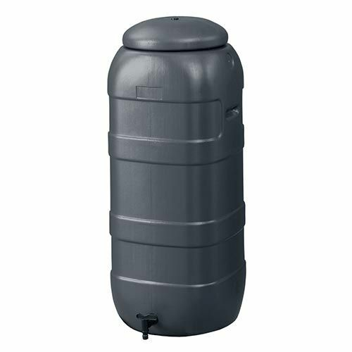 Harcostar Rainsaver Regenton 100 Liter | Plastic Regenwaterton Antraciet