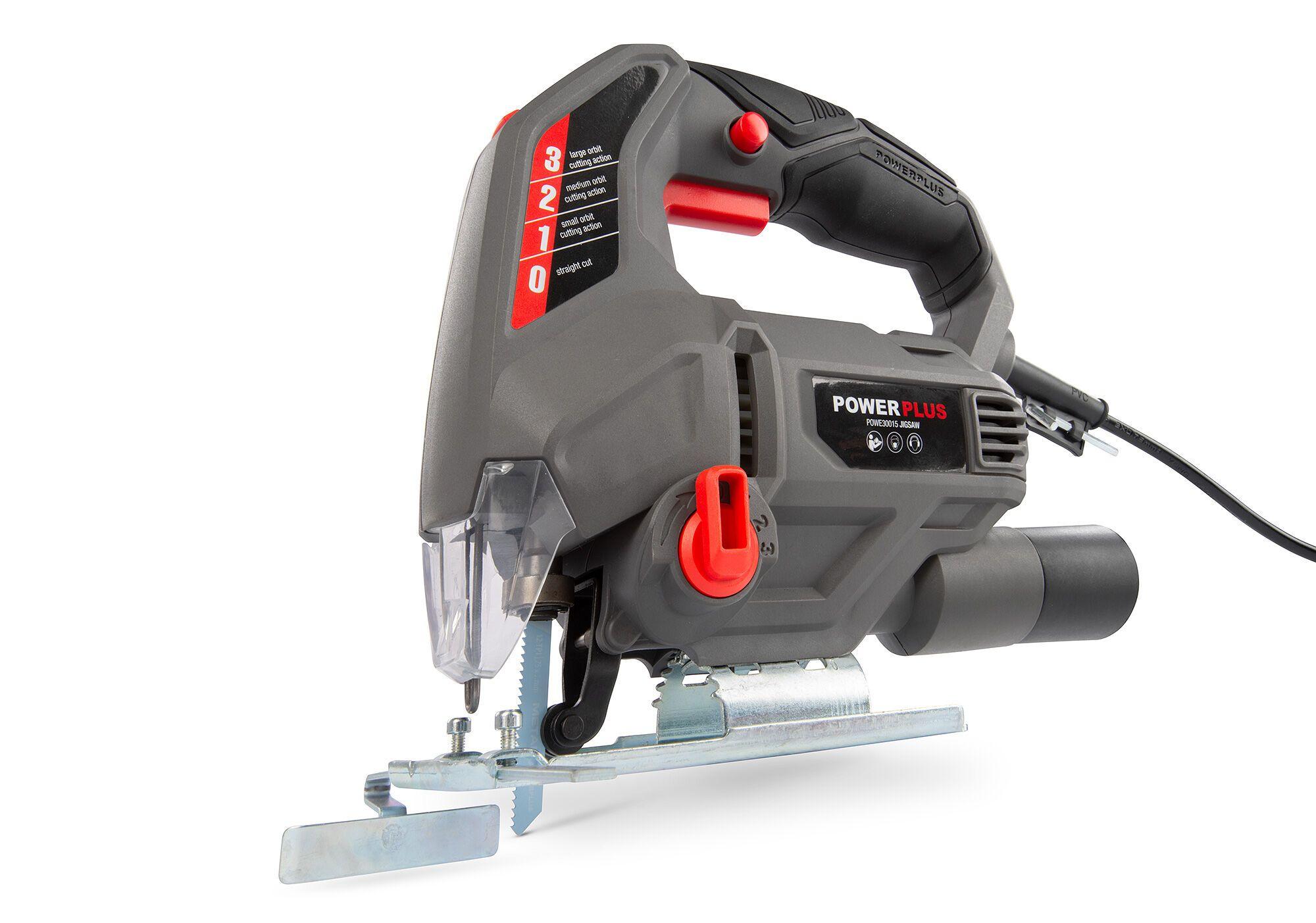 Powerplus POWE30015 Decoupeerzaag 710W | Wipzaag met laser