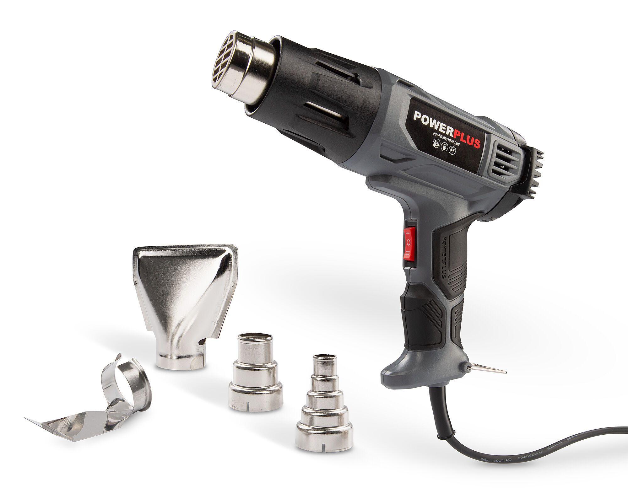 Powerplus POWE80040 Verfstripper 600W | Heteluchtpistool