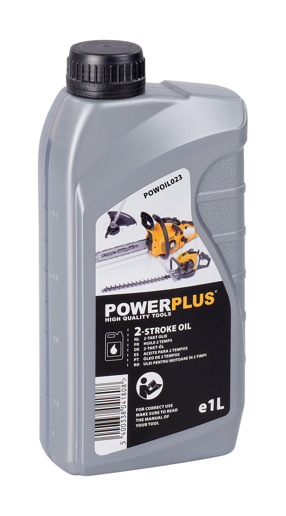 Powerplus POWOIL023 2 Takt olie 1 liter | Voor 2-takt machines