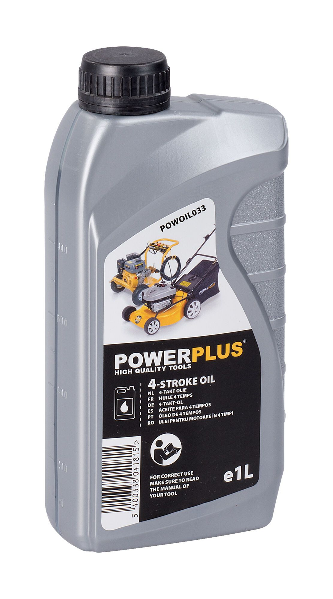 Powerplus POWOIL033 4-takt olie 1 liter | Voor 4-takt machines