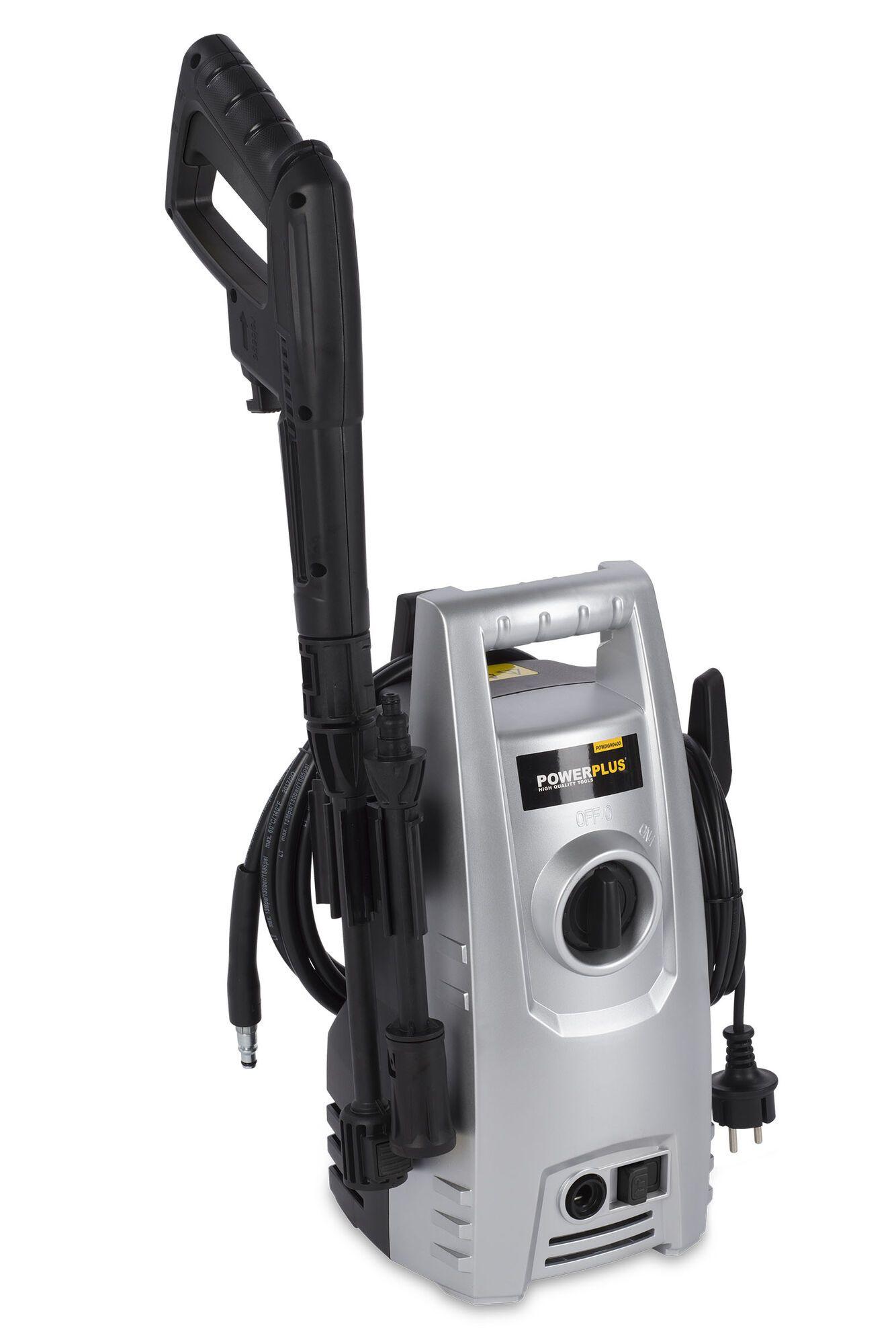 Powerplus POWXG90400 Elektrisch Hogedrukreiniger   Hogedrukspuit (hogedrukreinigers elektrisch)