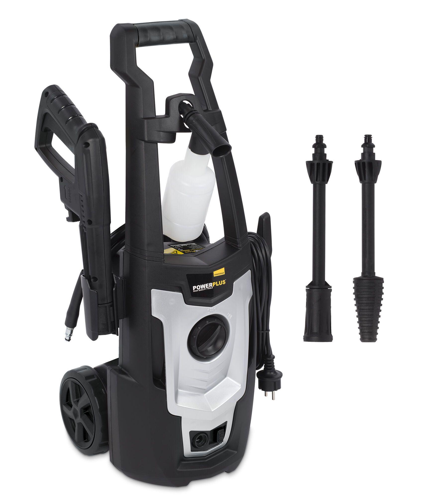 Powerplus POWXG90405 Elektrisch Hogedrukreiniger   Hogedrukspuit (hogedrukreinigers elektrisch)
