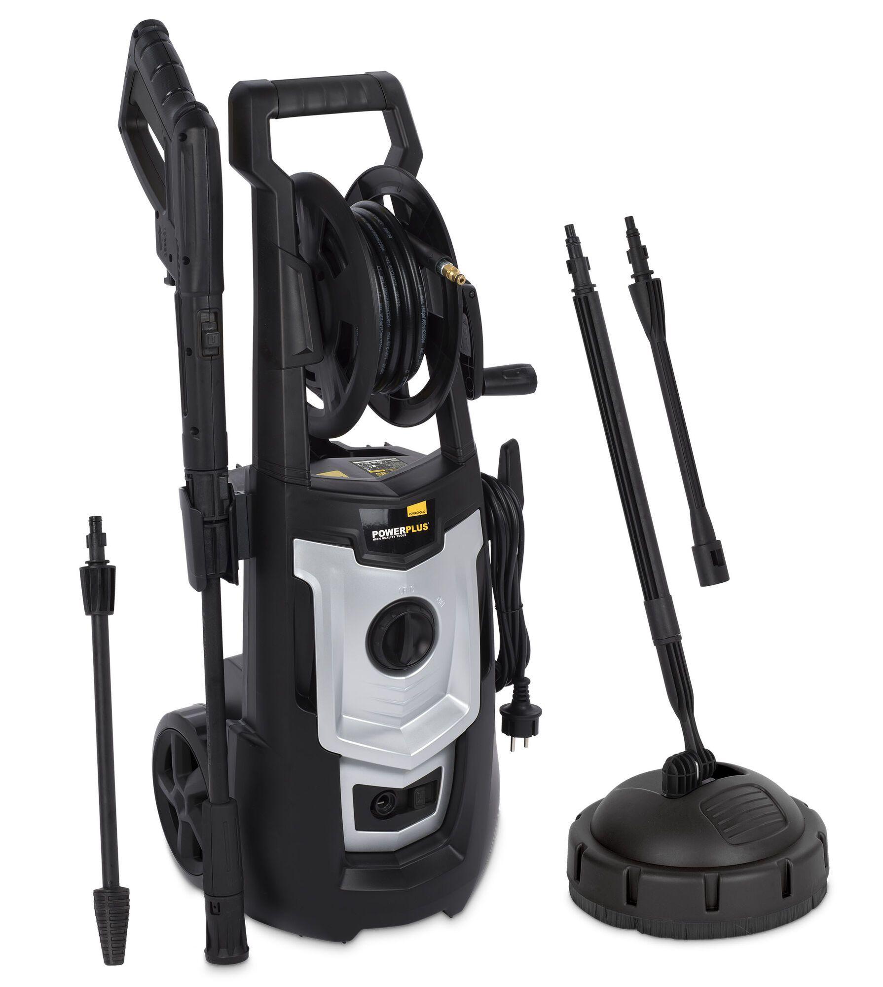 Powerplus POWXG90410 Elektrisch Hogedrukreiniger   Hogedrukspuit (hogedrukreinigers elektrisch)